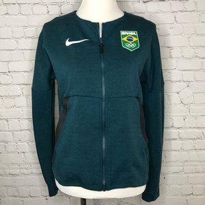 3525fe42b31 Women Nike Fleece Jacket on Poshmark